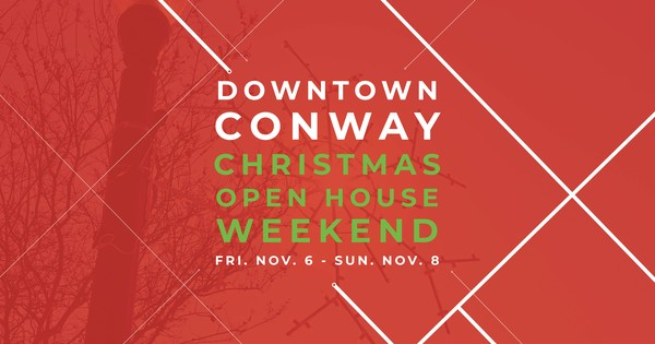 Christmas Open House 2020 Downtown Conway Christmas Open House 2020   Conway, Arkansas