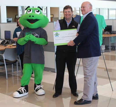Conway Downtown Partnership received $20,000 from the Toad Suck Daze Committee.