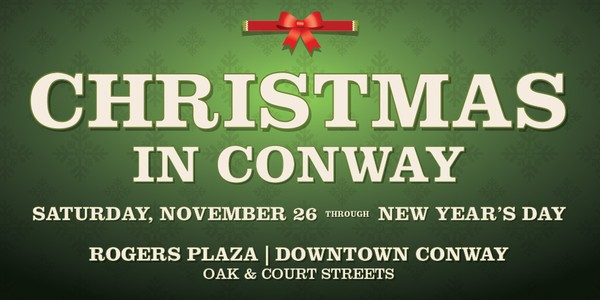 Christmas in Conway, Arkansas 2016