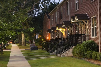 Downtown apartments in Conway, Arkansas