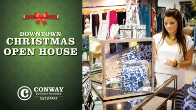 Downtown Conway Christmas Open House - Conway, Arkansas - Sunday, November 12