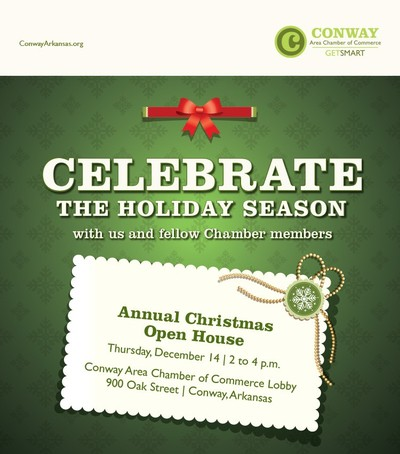 Conway Chamber Christmas Open House - Conway, Arkansas