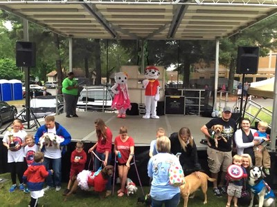 Paw Patrol Pet Show at Toad Suck Daze - Conway, Arkansas